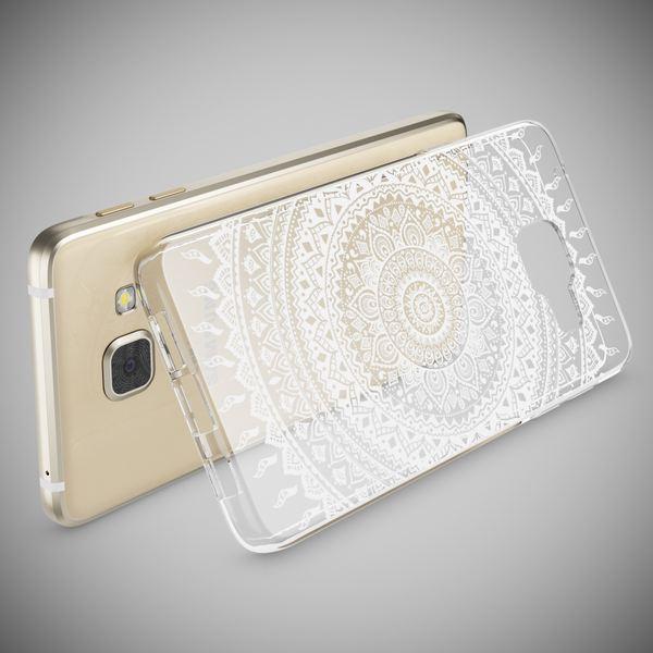 NALIA Handyhülle kompatibel mit Samsung Galaxy A3 2016, Slim Silikon Motiv Case Hülle Cover Crystal Dünn Durchsichtig Etui Handy-Tasche Backcover Transparent Phone Bumper – Bild 9