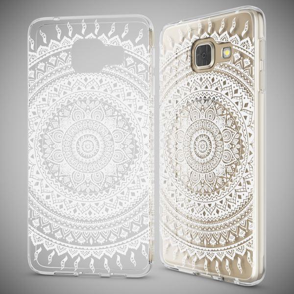 NALIA Handyhülle kompatibel mit Samsung Galaxy A3 2016, Slim Silikon Motiv Case Hülle Cover Crystal Dünn Durchsichtig Etui Handy-Tasche Backcover Transparent Phone Bumper – Bild 10
