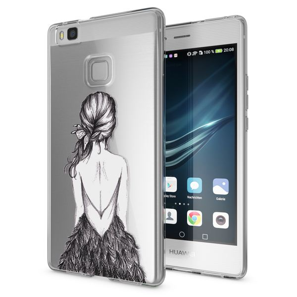 NALIA Handyhülle kompatibel mit Huawei P9 Lite 2016, Slim Silikon Motiv Case Cover Hülle Crystal Schutzhülle Dünn Durchsichtig, Etui Handy-Tasche Back-Cover Smart-Phone Bumper – Bild 14