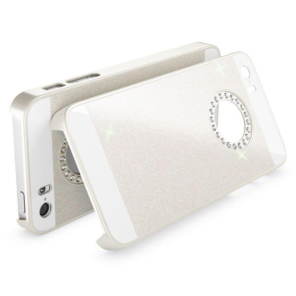 NALIA Handyhülle kompatibel mit iPhone SE 5 5S, Glitzer Slim Hard-Case Back-Cover Schutzhülle, Handy-Tasche im Glitter Design, Dünnes Bling Strass Etui Schale Smart-Phone Skin – Bild 23