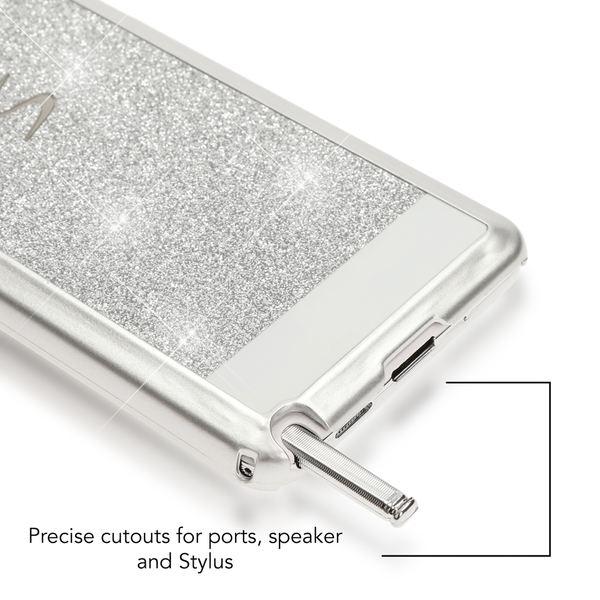 NALIA Handyhülle kompatibel mit Samsung Galaxy Note 3, Glitzer Slim Hard-Case Back-Cover Schutzhülle, Handy-Tasche Schale im Glitter Design, Dünnes Bling Strass Etui Smart-Phone Skin – Bild 7