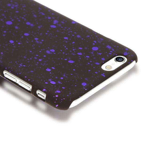 NALIA Handyhülle kompatibel mit iPhone 6 6S, Sternhimmel Glitzer Cover Dünnes 3D Case Schutz-Hülle Handy-Tasche, Ultra-Slim Liquid Silikon Hard-Case Bumper, Smart-Phone Backcover Etui – Bild 11