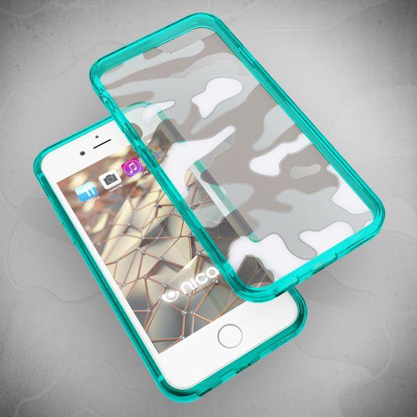 NALIA Camouflage-Handyhülle für iPhone 8 / 7, Slim TPU Silikon Case verstärkte Rückseite & Bumper, Dünne Schutz-Hülle Etui Handy-Tasche Back-Cover Bumper für Apple iPhone 7 / 8 – Bild 22