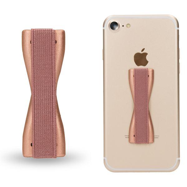 NALIA Fingerhalterung, stabile Finger-Schlaufe als Handy-Halter für Smart-Phone Einhand-Bedienung, Strap Hand-Griff selbstklebend kompatibel mit iPhone, Samsung, Sony, Huawei etc. – Bild 2