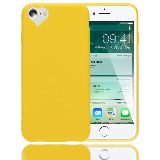 iPhone 8 / 7 Hülle Herz Handyhülle von NICA, Silikon Case Schutz Gummihülle, Soft Slim Cover Etui Dünne Handy-Tasche, Ultra-Slim Phone Back-Cover Skin Bumper für Apple iPhone-7 / 8 – Bild 17
