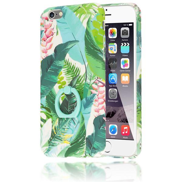 NALIA Ring Handyhülle für iPhone 6 6S, Motiv Schutz-Hülle mit 360-Grad Fingerhalterung, Dünnes Hard-Case mit Ständer, Slim Back-Cover Etui für Apple i-Phone 6S 6 Phone – Bild 12