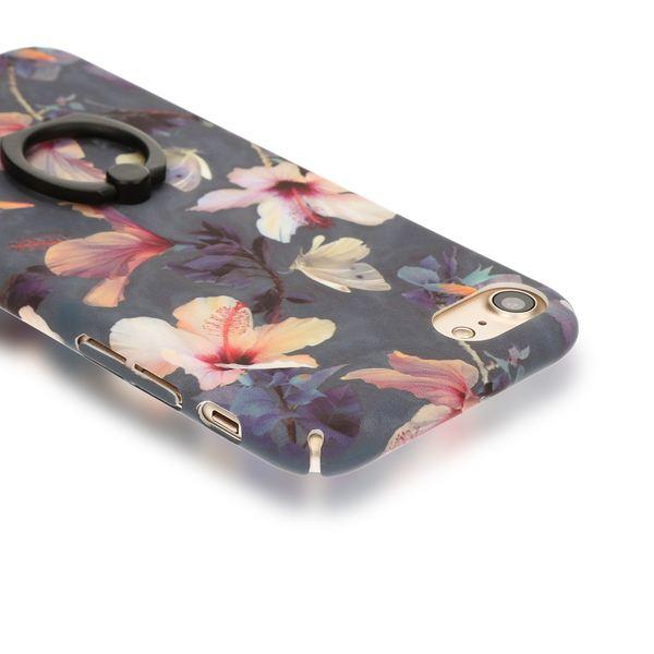 NALIA Ring Handyhülle für iPhone 8 / 7, Motiv Schutz-Hülle mit 360-Grad Fingerhalterung, Dünnes Hard-Case mit Ständer Bumper Slim Back-Cover Etui für Apple i-Phone 7 / 8 – Bild 10