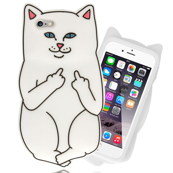 NALIA Handyhülle für iPhone 6 6S 3D, Dünnes Silikon Cartoon-Case Cover Stoßfeste Anti-Rutsch Schutz-Hülle, Backcover Handy-Tasche Bumper Phone Etui für Apple iPhone-6S 6 – Bild 14