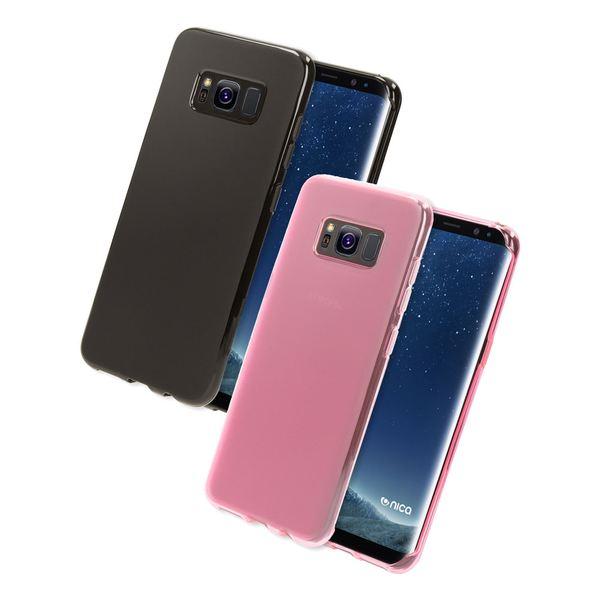 NALIA Handyhülle kompatibel mit Samsung Galaxy S8 Plus, Ultra-Slim Silikon Case, Dünne Crystal Schutz-Hülle, Etui Handy-Tasche Back-Cover Bumper, TPU Smart-Phone Gummihülle – Bild 1
