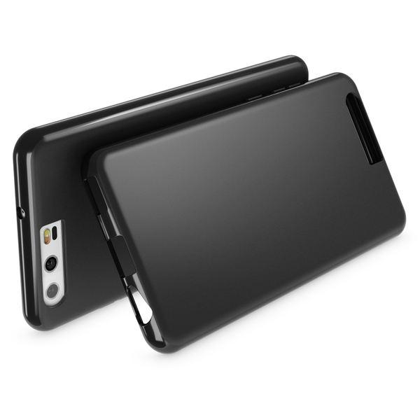 NALIA Handyhülle kompatibel mit Huawei P10, Ultra-Slim Silikon Case Cover, Dünne Crystal Schutz-Hülle, Etui Handy-Tasche Back-Cover Phone Bumper, softe TPU Smart-Phone Gummihülle – Bild 2