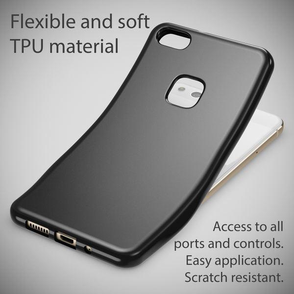 NALIA Handyhülle für Huawei P10 Lite, Ultra-Slim Silikon Case Cover, Dünne Crystal Schutz-Hülle, Etui Handy-Tasche Back-Cover Phone Bumper, TPU Gummihülle für P10-Lite Smartphone – Bild 5