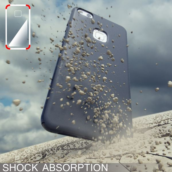 NALIA Handyhülle kompatibel mit Huawei P10 Lite, Ultra-Slim Silikon Case Cover, Dünne Crystal Schutz-Hülle, Etui Handy-Tasche Back-Cover Phone Bumper, TPU Smart-Phone Gummihülle – Bild 6