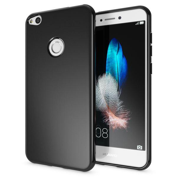 NALIA Handyhülle kompatibel mit Huawei P8 Lite 2017, Ultra-Slim Silikon Case Cover, Dünne Crystal Schutz-Hülle, Etui Handy-Tasche Back-Cover Smart-Phone Bumper, TPU Gummihülle – Bild 1