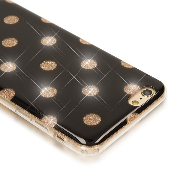 NALIA Punkte-Handyhülle kompatibel mit iPhone 6 6S, Glitzer Ultra-Slim Silikon-Case Back-Cover Smart-Phone Schutz-Hülle, Glitter Sparkle Handy-Tasche Bumper Dünnes Bling Strass Etui  – Bild 10
