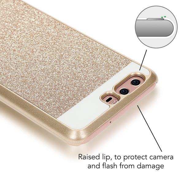 NALIA Handyhülle für Huawei P10, Glitzer Hard-Case Back-Cover Schutz-Hülle, Handy-Tasche im Glitter Sparkle Design, Dünnes Bling Strass Etui für P10 Smart-Phone – Bild 8