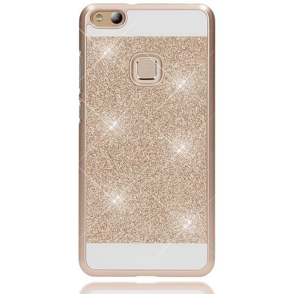 NALIA Handyhülle kompatibel mit Huawei P10 Lite, Glitzer Hard-Case Back-Cover Schutz-Hülle, Handy-Tasche im Glitter Sparkle Design, Dünnes Bling Strass Etui Smart-Phone Skin – Bild 11