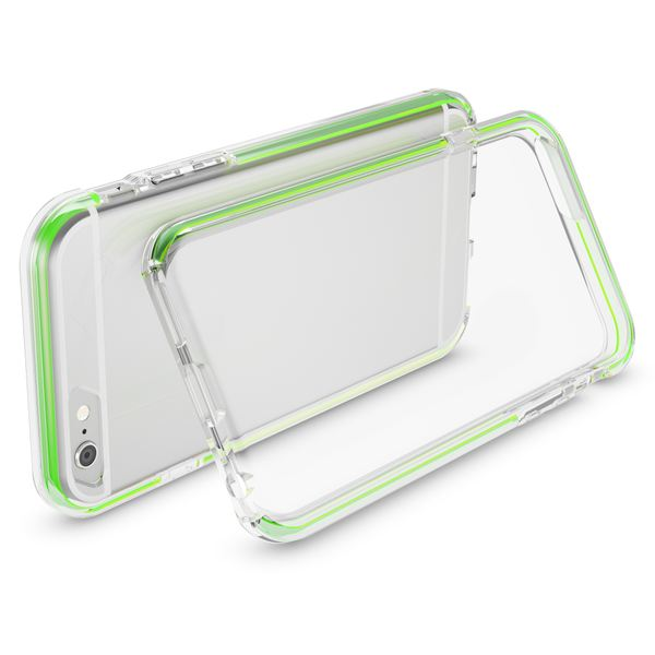 NALIA Handyhülle kompatibel mit iPhone 6 6S, Durchsichtiges Slim Silikon Case mit Transparenter Rückseite & Bumper, Crystal Schutz-Hülle Etui Dünn, Handy-Tasche Smart-Phone Back-Cover – Bild 8