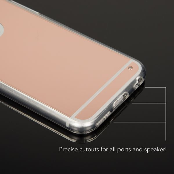 NALIA Spiegel Hülle kompatibel mit iPhone 6 6S, Ultra-Slim Mirror Case Cover Silikon Schutzhülle, Dünne Handyhülle Backcover verspiegelt, Handy-Tasche Bumper Skin Smart-Phone Etui – Bild 16
