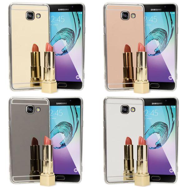 NALIA Spiegel Hülle kompatibel mit Samsung Galaxy A5 2016, Ultra-Slim Mirror Case Cover Silikon Schutzhülle, Dünne Handyhülle Backcover verspiegelt, Handy-Tasche Smart-Phone Etui – Bild 1