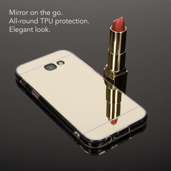 NALIA Spiegel Hülle kompatibel mit Samsung Galaxy A5 2017, Ultra-Slim Mirror Case Cover Silikon Schutzhülle, Dünne Handyhülle Backcover verspiegelt, Handy-Tasche Smart-Phone Etui – Bild 16