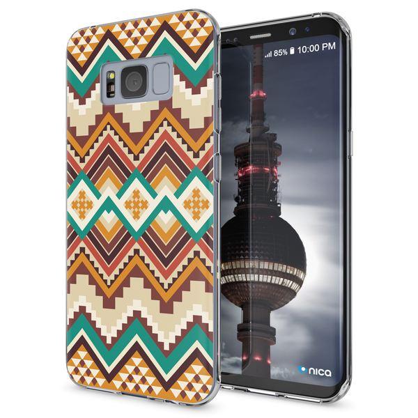 NALIA Handyhülle kompatibel mit Samsung Galaxy S8, Motiv Design Slim Silikon Case Cover, Crystal Schutzhülle Handy-Tasche Dünn, Muster Backcover Bumper Smart-Phone Hülle – Bild 2
