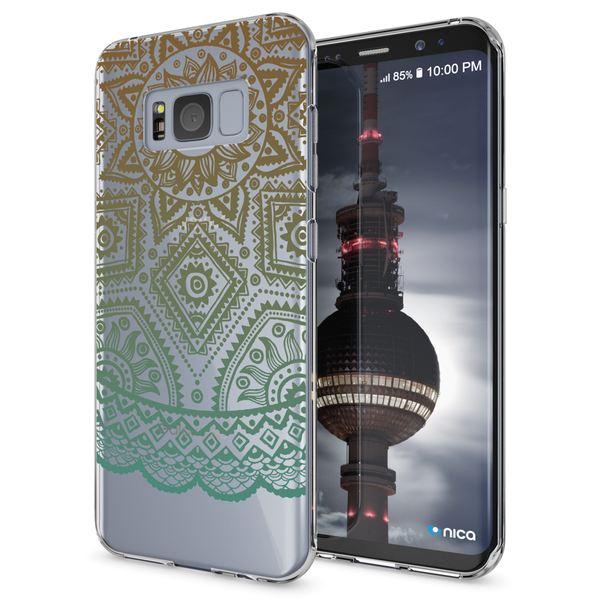 NALIA Handyhülle kompatibel mit Samsung Galaxy S8, Motiv Design Slim Silikon Case Cover, Crystal Schutzhülle Handy-Tasche Dünn, Muster Backcover Bumper Smart-Phone Hülle – Bild 11