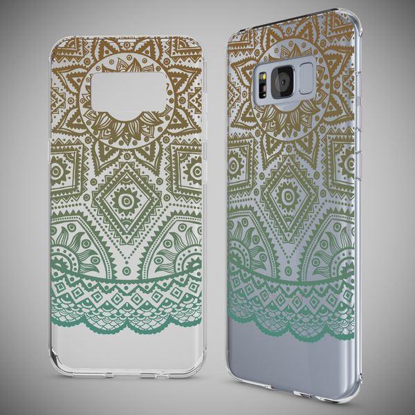 NALIA Handyhülle kompatibel mit Samsung Galaxy S8, Motiv Design Slim Silikon Case Cover, Crystal Schutzhülle Handy-Tasche Dünn, Muster Backcover Bumper Smart-Phone Hülle – Bild 13