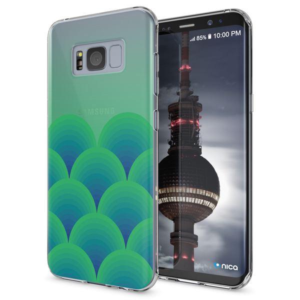 NALIA Handyhülle kompatibel mit Samsung Galaxy S8 Plus, Motiv Design Slim Silikon Case Cover, Crystal Schutzhülle Handy-Tasche Dünn, Muster Backcover Smart-Phone Hülle – Bild 5