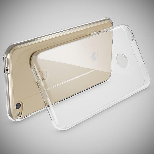 NALIA Handyhülle kompatibel mit Huawei P8 Lite 2017, Ultra-Slim Soft TPU Silikon Case Cover, Crystal Clear Schutzhülle Dünn Durchsichtig, Etui Handy-Tasche Backcover Smart-Phone Hülle - Transparent – Bild 2