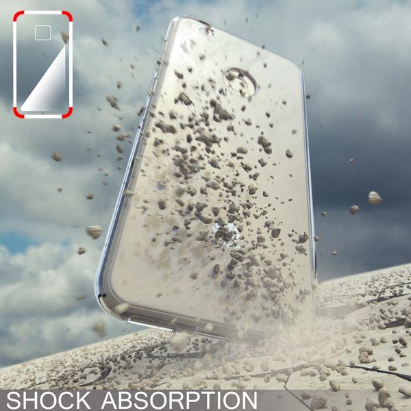NALIA Handyhülle für Huawei P8 Lite 2017, Slim Silikon Motiv Case Crystal Schutz-Hülle Dünn Durchsichtig, Etui Handy-Tasche Back-Cover Transparent Bumper für P8Lite-17 - Transparent – Bild 7