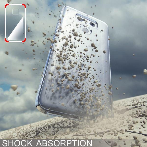 NALIA Handyhülle für LG G6, Slim Silikon Motiv Case Cover Crystal Schutz-Hülle Dünn Durchsichtig, Etui Handy-Tasche Backcover Transparent Bumper für G-6 Smart-Phone - Transparent – Bild 5