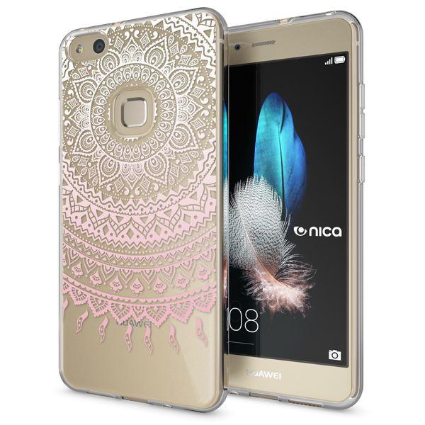 NALIA Handyhülle für Huawei P10 Lite, Slim Silikon Motiv Case Cover Crystal Schutz-Hülle Dünn Durchsichtig, Etui Handy-Tasche Backcover Transparent Bumper für P10Lite – Bild 8