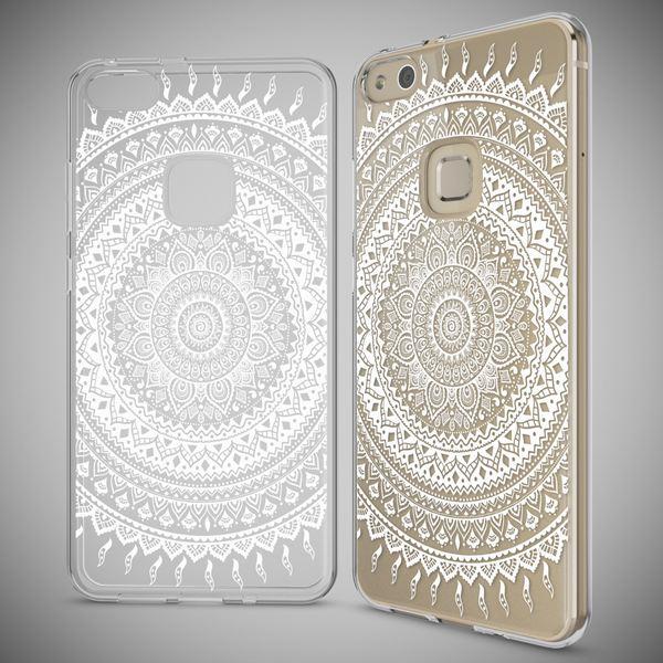 NALIA Handyhülle für Huawei P10 Lite, Slim Silikon Motiv Case Cover Crystal Schutz-Hülle Dünn Durchsichtig, Etui Handy-Tasche Backcover Transparent Bumper für P10Lite – Bild 13