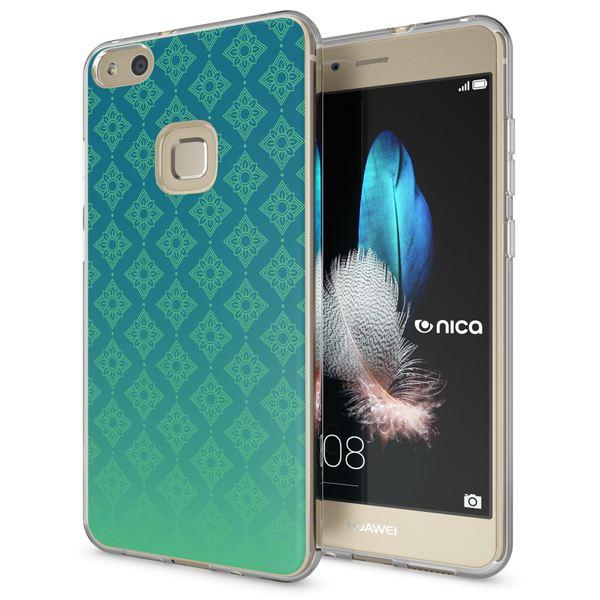 NALIA Handyhülle für Huawei P10 Lite, Slim Silikon Motiv Case Cover Crystal Schutz-Hülle Dünn Durchsichtig, Etui Handy-Tasche Backcover Transparent Bumper für P10Lite – Bild 17