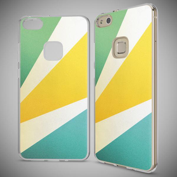NALIA Handyhülle für Huawei P10 Lite, Slim Silikon Motiv Case Cover Crystal Schutz-Hülle Dünn Durchsichtig, Etui Handy-Tasche Backcover Transparent Bumper für P10Lite – Bild 25