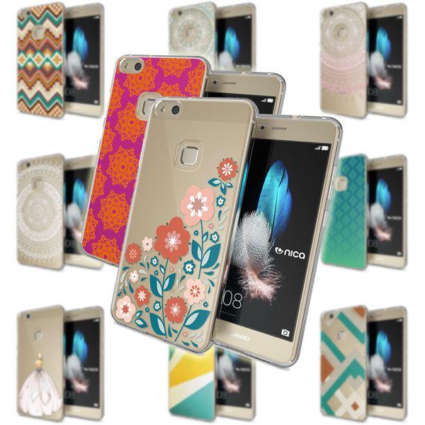NALIA Handyhülle kompatibel mit Huawei P10 Lite, Motiv Design Slim Silikon Case Cover, Crystal Schutzhülle Handy-Tasche Dünn, Muster Etui Backcover Skin Smart-Phone Hülle – Bild 1