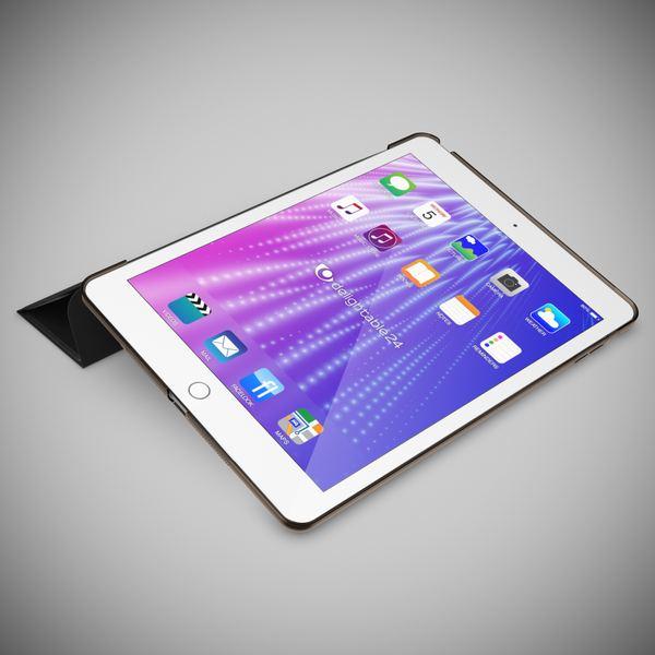 Apple iPad 2 3 4 Hülle Smart-Case von NALIA, Ultra-Slim Cover Dünne Tablet Schutzhülle, Kunst-leder Hardcase Ständer Tasche, Display-Schutz & Backcover Flip-Case Klapphülle Sleeve – Bild 8