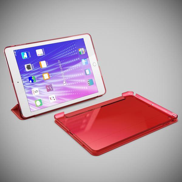 Apple iPad 2 3 4 Hülle Smart-Case von NALIA, Ultra-Slim Cover Dünne Tablet Schutzhülle, Kunst-leder Hardcase Ständer Tasche, Display-Schutz & Backcover Flip-Case Klapphülle Sleeve – Bild 13