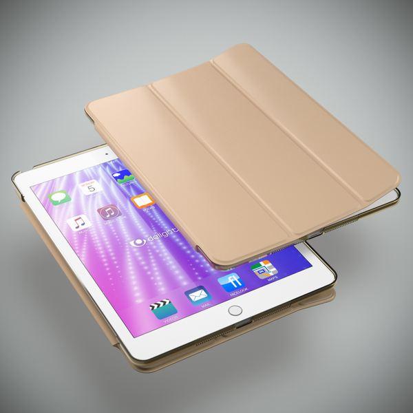 Apple iPad 2 3 4 Hülle Smart-Case von NALIA, Ultra-Slim Cover Dünne Tablet Schutzhülle, Kunst-leder Hardcase Ständer Tasche, Display-Schutz & Backcover Flip-Case Klapphülle Sleeve – Bild 17