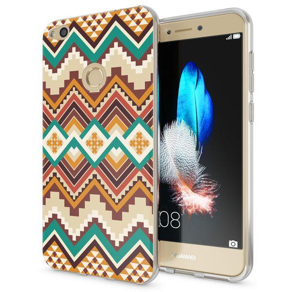NALIA Handyhülle kompatibel mit Huawei P8 Lite 2017, Motiv Design Slim Silikon Case Cover, Crystal Schutzhülle Handy-Tasche Dünn, Muster Etui Backcover Smart-Phone Hülle – Bild 2