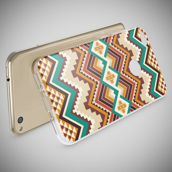 NALIA Handyhülle kompatibel mit Huawei P8 Lite 2017, Motiv Design Slim Silikon Case Cover, Crystal Schutzhülle Handy-Tasche Dünn, Muster Etui Backcover Smart-Phone Hülle – Bild 3