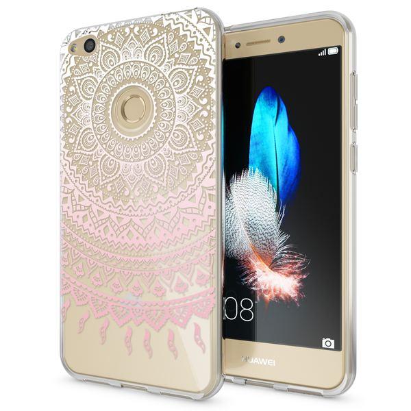 NALIA Handyhülle für Huawei P8 Lite 2017, Slim Silikon Motiv Case Crystal Schutz-Hülle Dünn Durchsichtig Etui Handy-Tasche Back-Cover Transparent Bumper für P8Lite-17 – Bild 8