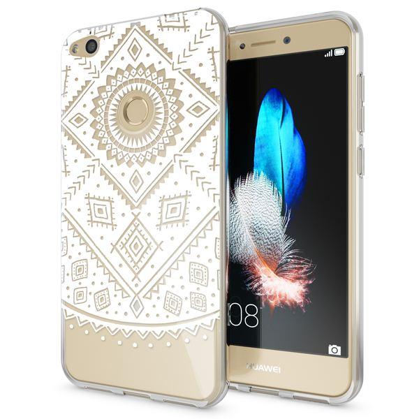 NALIA Handyhülle für Huawei P8 Lite 2017, Slim Silikon Motiv Case Crystal Schutz-Hülle Dünn Durchsichtig Etui Handy-Tasche Back-Cover Transparent Bumper für P8Lite-17 – Bild 17