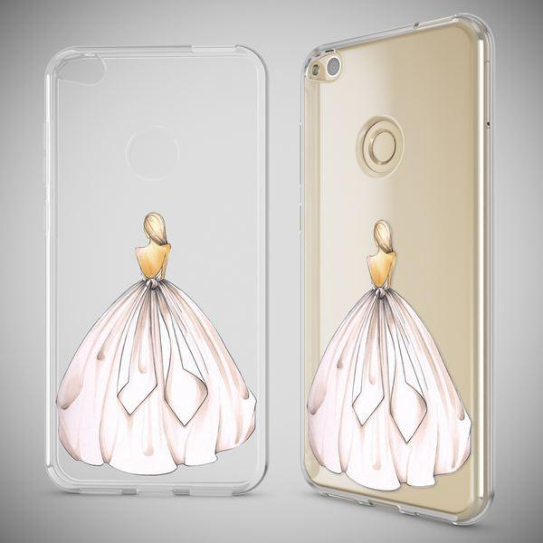 NALIA Handyhülle für Huawei P8 Lite 2017, Slim Silikon Motiv Case Crystal Schutz-Hülle Dünn Durchsichtig Etui Handy-Tasche Back-Cover Transparent Bumper für P8Lite-17 – Bild 25