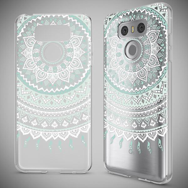 NALIA Handyhülle für LG G6, Slim Silikon Motiv Case Cover Crystal Schutz-Hülle Dünn Durchsichtig, Etui Handy-Tasche Backcover Transparent Bumper für G-6 Smart-Phone – Bild 7
