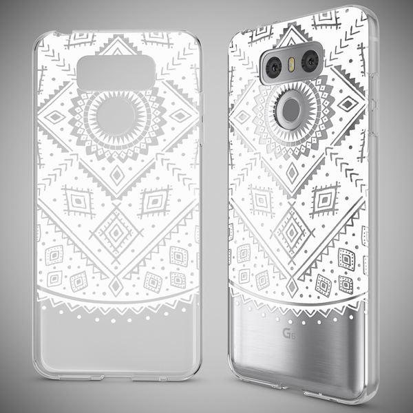NALIA Handyhülle für LG G6, Slim Silikon Motiv Case Cover Crystal Schutz-Hülle Dünn Durchsichtig, Etui Handy-Tasche Backcover Transparent Bumper für G-6 Smart-Phone – Bild 19