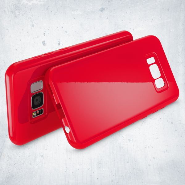 NALIA Handyhülle kompatibel mit Samsung Galaxy S8 Plus, Jelly Case Schutzhülle Ultra-Slim Silikon Back-Cover, Dünne Gummi Hülle Handy-Tasche Schale, Smart-Phone Bumper Skin Etui – Bild 13