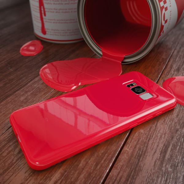 NALIA Handyhülle kompatibel mit Samsung Galaxy S8 Plus, Jelly Case Schutzhülle Ultra-Slim Silikon Back-Cover, Dünne Gummi Hülle Handy-Tasche Schale, Smart-Phone Bumper Skin Etui – Bild 14