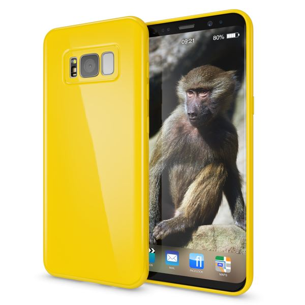 NALIA Handyhülle kompatibel mit Samsung Galaxy S8 Plus, Jelly Case Schutzhülle Ultra-Slim Silikon Back-Cover, Dünne Gummi Hülle Handy-Tasche Schale, Smart-Phone Bumper Skin Etui – Bild 22