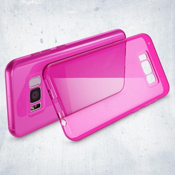 NALIA Handyhülle kompatibel mit Samsung Galaxy S8, Ultra-Slim Silikon Case Cover Crystal Schutzhülle Dünn Durchsichtig, Handy-Tasche Backcover Transparent Smart-Phone Hülle Bumper – Bild 18